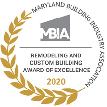 Maryland Bulding Industry Association Award of Excellence 2020